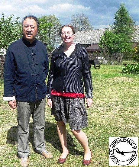 Li Li, I sekretarz ambasady Chińskiej w Muzeum Kurpiowskim w Wachu