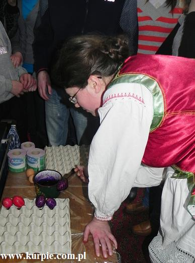 Pisanki Kurpiowskie - Wielkanocne w Muzeum Kurpiowskim w Wachu