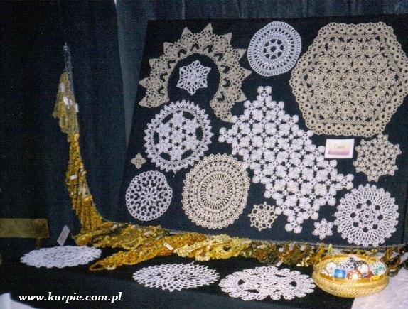 Wyroby z frywolitki