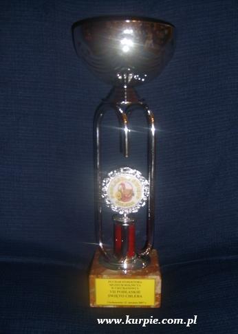 Puchar Dyrektora Muzeum Rolnictwa w Ciechanowcu za najlepsze stoisko na �wi�cie Chleba - 2007